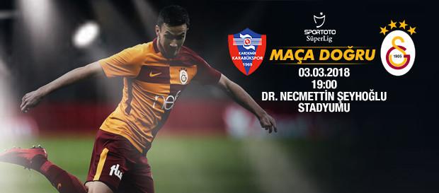 Maça doğru   Kardemir Karabükspor - Galatasaray