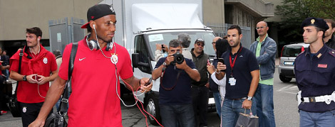 Galatasaray Torino'da