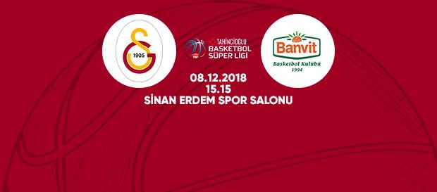 Maça doğru | Galatasaray – Banvit
