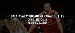Maça doğru   Galatasaray Odeabank – Anadolu Efes