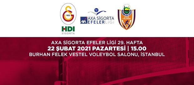 Maça Doğru   Galatasaray HDI Sigorta - İnegöl Belediye