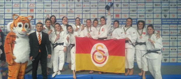 Kadın Judo Takımımız Avrupa Üçüncüsü