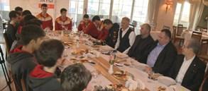 Beşiktaş ile dostluk yemeğinde bir araya gelindi