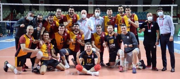 Galatasaray HDI Sigorta 3-1 Arkas Spor