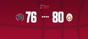 İzmit Belediyespor 76-80 Galatasaray