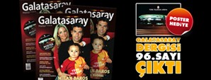 Galatasaray Dergisi 96. Sayısı Bayilerde