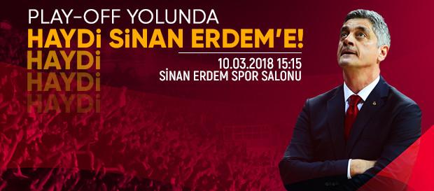 Play-Off yolunda haydi Sinan Erdem'e!