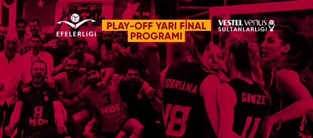 Play Off Yarı Final programı açıklandı