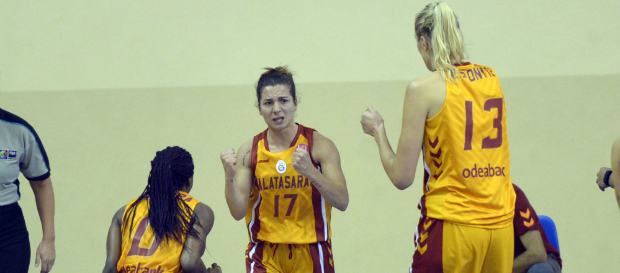 Galatasaray 87–76 Castors Braine