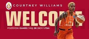 Courtney Williams Galatasaray'da