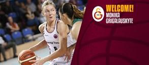 Monika Grigalauskyte Galatasaray'da