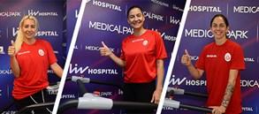 Galatasaray HDI Sigorta Kadın Voleybol Takımımız sağlık kontrolünden geçti