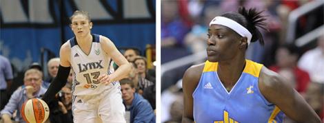 Whalen ve Fowles WNBA'de Zirvede