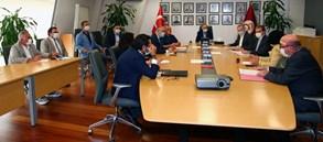 Yönetim kurulu toplantısı Başkanımız Mustafa Cengiz'in başkanlığında gerçekleştirildi