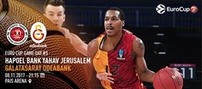 Maça doğru | Hapoel Jerusalem – Galatasaray Odeabank