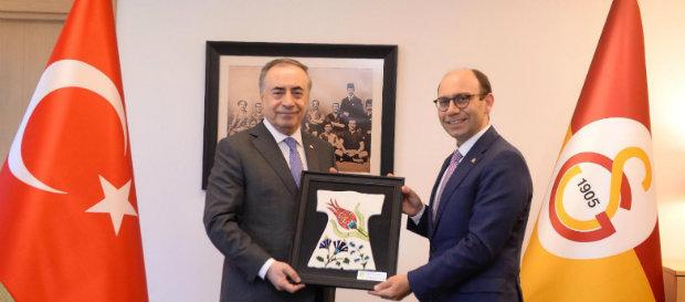 İstanbul Üniversitesi - Cerrahpaşa Rektörü ve Genel Sekreteri'nden Başkanımıza ziyaret
