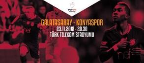 Maça doğru | Galatasaray – Atiker Konyaspor