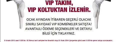 Şampiyon'u Bir de VIP Koltuk'tan İzleyin!