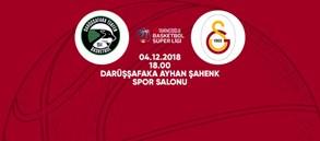 Maça doğru | Darüşşafaka Tekfen - Galatasaray