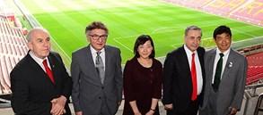 Büyükelçi Miyajima'dan, Yönetimimize ziyaret