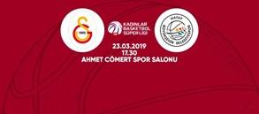 Maça doğru | Galatasaray – Hatay Büyükşehir Belediye