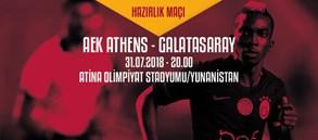 Hazırlık Maçı | AEK - Galatasaray