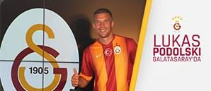 Lukas Podolski Galatasaray'da