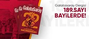 Galatasaray Dergisi'nin 189. sayısı raflardaki yerini aldı