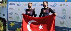 Milli kürekçilerimiz Avrupa U23 Şampiyonası'ndan madalyalarla döndü