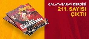 Galatasaray Dergisi'nin 211. sayısı GS Store'larda satışta
