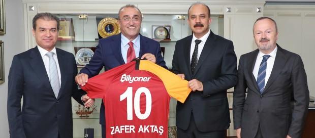 İkinci Başkanımız ve Başkan Yardımcılarımızdan İstanbul Emniyet Müdürü Zafer Aktaş'a ziyaret