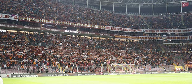 Galatasaray Passolig'de de zirvede