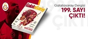 Galatasaray Dergisi 199. sayısı çıktı