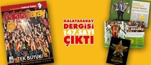 Galatasaray Dergisi 147. Sayısı Bayilerde