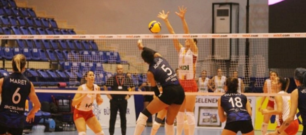 Aydın BBSK 3-2 Galatasaray HDI Sigorta