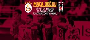 Maça doğru | Galatasaray - Beşiktaş
