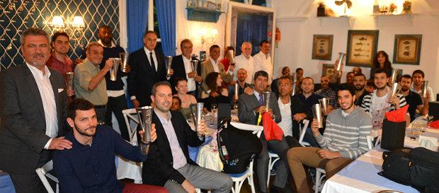 Galatasaray Odeabank Yemekte Bir Araya Geldi