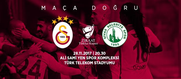Maça doğru | Galatasaray- Sivas Belediye Spor