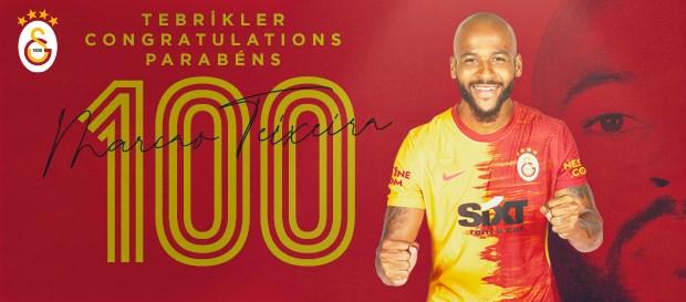 Marcao Teixeira Galatasaray formasıyla 100. maçına çıktı