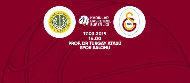 Maça doğru | İstanbul Üniversitesi – Galatasaray