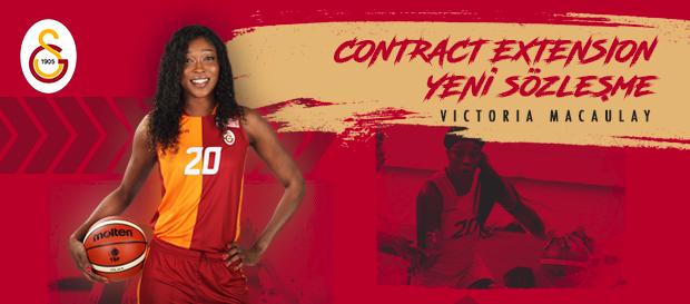 Victoria Macaulay ile sözleşme yenilendi