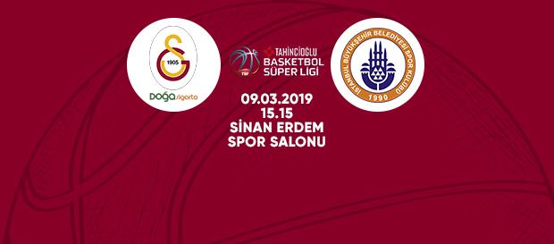 Maça doğru | Galatasaray Doğa Sigorta - İstanbul BBSK
