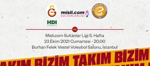 Maça Doğru | Galatasaray HDI Sigorta - Eczacıbaşı Dynavit