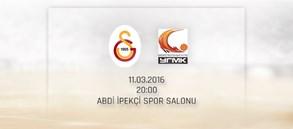 Maça Doğru: Galatasaray - UMMC Ekaterinburg