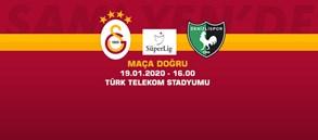 Maça Doğru   Galatasaray - Yukatel Denizlispor