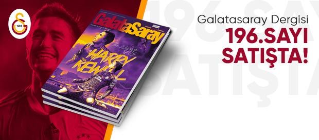 Galatasaray Dergisi'nin 196. sayısı GS Store'larda satışta