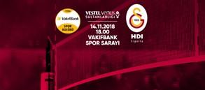 Maça doğru | Vakıfbank - Galatasaray HDI Sigorta