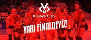 Galatasaray HDI Sigorta Kupa Voley'de yarı finalde