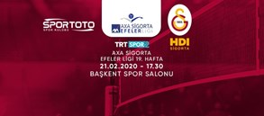 Maça doğru | Spor Toto - Galatasaray HDI Sigorta