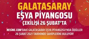 Galatasaray Eşya Piyangosu 26 Şubat'ta Çekiliyor!